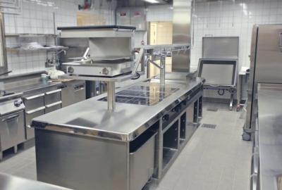 Правила расстановки оборудования на кухне кафе. Проектировка и требования